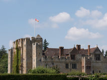 Hever Castle - Kent. Hever Castle: built in the 13th century, home of Ann Boleyn the second queen consort of King Henry VIII of England, located in the village royalty free stock image