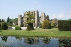 Hever castle in Kent, England Royalty Free Stock Photos