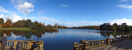 Hever Castle Lake Royalty Free Stock Image