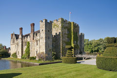 Hever Castle On A Beautiful Day Royalty Free Stock Photos