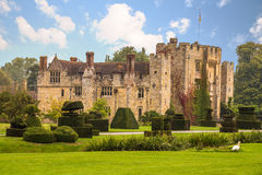 Hever Castle side Stock Image