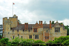 Hever castle side view Stock Photos