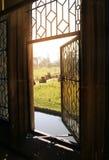 HEVER kasztel I ogródy, KENT, UK Zdjęcie Stock