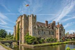 Hever kasztel w Kent, Anglia Obrazy Royalty Free