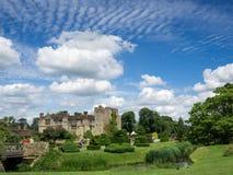 HEVER, KENT/UK - 28 JUIN : Vue de château de Hever sur Sunny Summe Photo stock