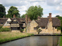 HEVER, KENT/UK - JUNE 28 : Houses in the Grounds of Hever Castle Royalty Free Stock Photo