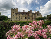 HEVER, KENT/UK - JUNE 28 : View of Hever Castle from the Garden Stock Images