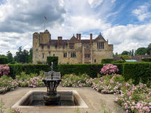 HEVER, KENT/UK - JUNE 28 : View of Hever Castle from the Garden Stock Image