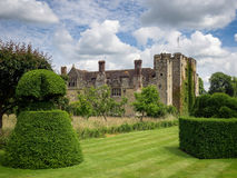 HEVER, KENT/UK - JUNE 28 : View of Hever Castle and Grounds in H Royalty Free Stock Photo
