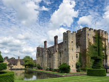 HEVER, KENT/UK - JUNE 28 : View of Hever Castle in Hever Kent on Stock Photos