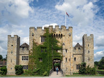 HEVER, KENT/UK - JUNE 28 : View of Hever Castle in Hever Kent on Stock Photo