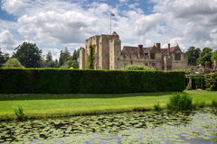 HEVER, KENT/UK - JUNE 28 : View of Hever Castle on a Sunny Summe Stock Image