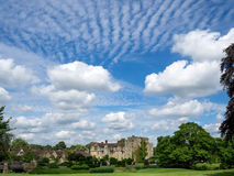HEVER, KENT/UK - JUNE 28 : View of Hever Castle on a Sunny Summe Royalty Free Stock Image