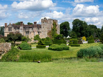 HEVER, KENT/UK - JUNE 28 : View of Hever Castle on a Sunny Summe Stock Images