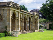 HEVER, KENT/UK - JUNE 28 : View of the Loggia by the Lake at Hev Royalty Free Stock Photography