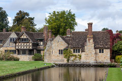 HEVER, KENT/UK - SEPTEMBER 18 : Hever Castle in Hever Kent on Se Royalty Free Stock Photo