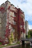 HEVER KENT/UK - SEPTEMBER 18: Hever slott i Hever Kent på Se Royaltyfri Fotografi