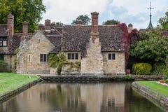 HEVER KENT/UK - SEPTEMBER 18: Hever slott i Hever Kent på Se Royaltyfria Bilder