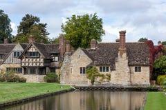HEVER KENT/UK - SEPTEMBER 18: Hever slott i Hever Kent på Se Royaltyfri Foto