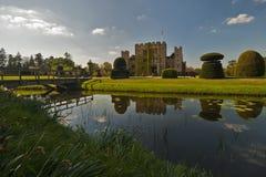 Hever Schloss an einem schönen Tag Stockbild