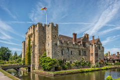 Hever-Schloss in Kent, England Lizenzfreie Stockbilder