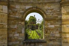 Hever trädgårdar Arkivfoto