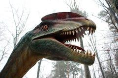 Hevig dinosaurusportret royalty-vrije stock afbeeldingen