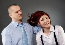 Hevige werkgever Stock Foto