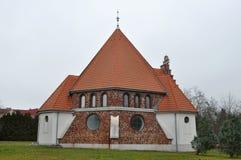 Heviz church, Hungary Stock Photo