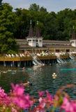 Heviz Thermal Lake Royalty Free Stock Images
