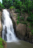Hew Narok waterfall in Thailand Stock Photos