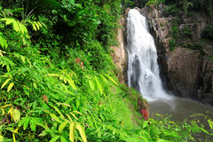 Hew Narok waterfall in Thailand Royalty Free Stock Images