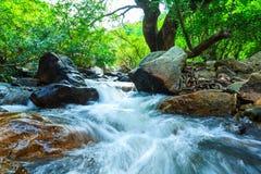 Hew noi waterfall Royalty Free Stock Photo