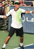 Hewitt: Professional tennis player forehand Stock Image