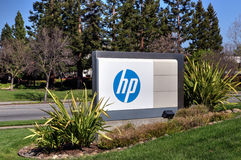 Hewlett-Packard corporate headquarters Stock Photos