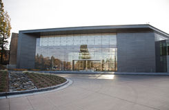 Hewlett-Packard corporate headquarters stock photography