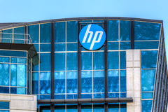 Hewlett-Packard corporate headquarters in Silicon Valley Stock Photography