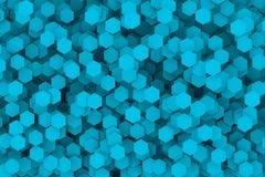 Hexágono abstracto Fotografía de archivo libre de regalías