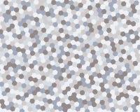 Hexágono abstracto del fondo Ilustración del vector Imagen de archivo