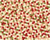 Hexágono abstracto del fondo Ilustración del vector Fotografía de archivo libre de regalías