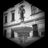 Hexágono antigo Foto de Stock