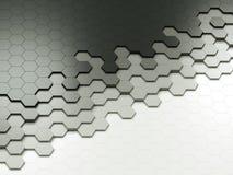 Hexágonos abstractos Imágenes de archivo libres de regalías