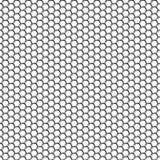 hexágonos Fundo dos favos de mel claros do metal Transição das máscaras Efeito e volume da criação 3d Papéis de parede para sites ilustração do vetor
