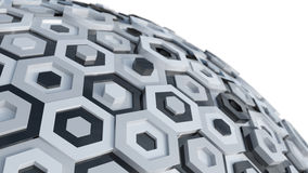 Hex Abstract Background Royalty Free Stock Photos