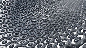 Hex Abstract Background Royalty Free Stock Photo