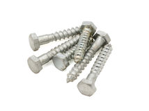 Hex bolts Stock Photos