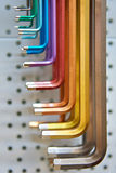 Hex key set Stock Photos