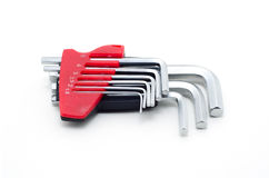 Hex key set one-pack. stock photos