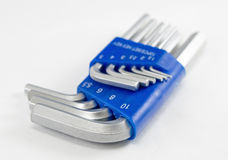 Hex key set Royalty Free Stock Photo
