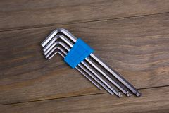 Free Hex Keys Royalty Free Stock Images - 86645909